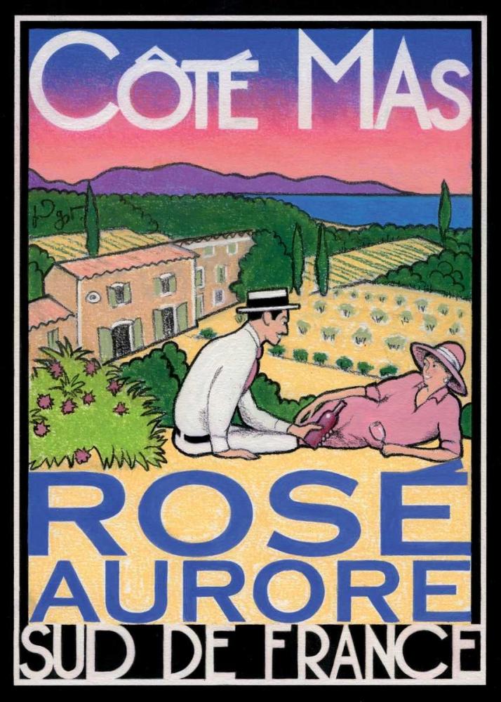 konfigurieren des Kunstdrucks in Wunschgröße Rose Aurore von Got, Jean-Pierre
