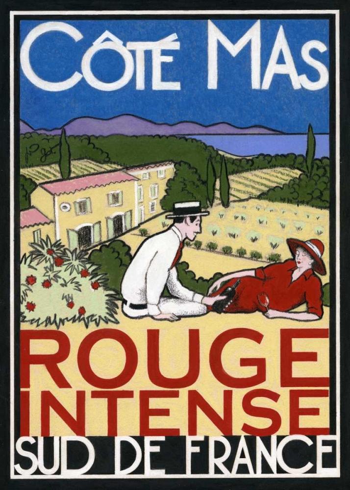 konfigurieren des Kunstdrucks in Wunschgröße Rouge Intense von Got, Jean-Pierre
