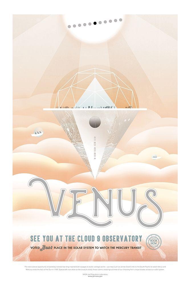 konfigurieren des Kunstdrucks in Wunschgröße Venus von JPL