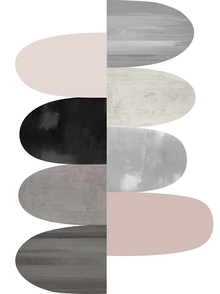 konfigurieren des Kunstdrucks in Wunschgröße Engaged Blush II von Thompson, Justin