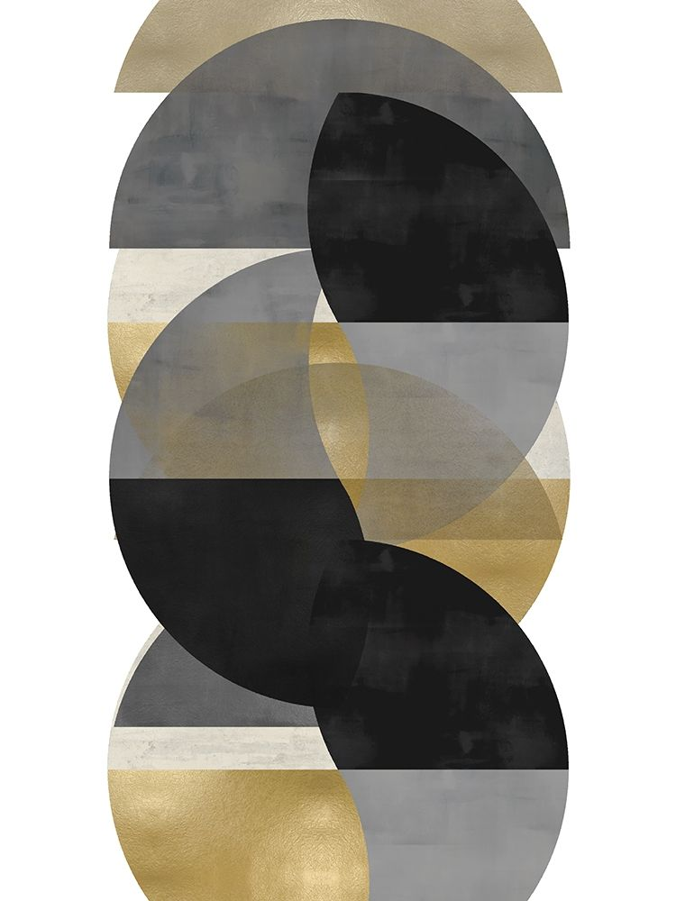 konfigurieren des Kunstdrucks in Wunschgröße Layered II von Thompson, Justin