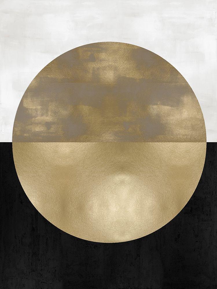 konfigurieren des Kunstdrucks in Wunschgröße Gold Sphere von Thompson, Justin
