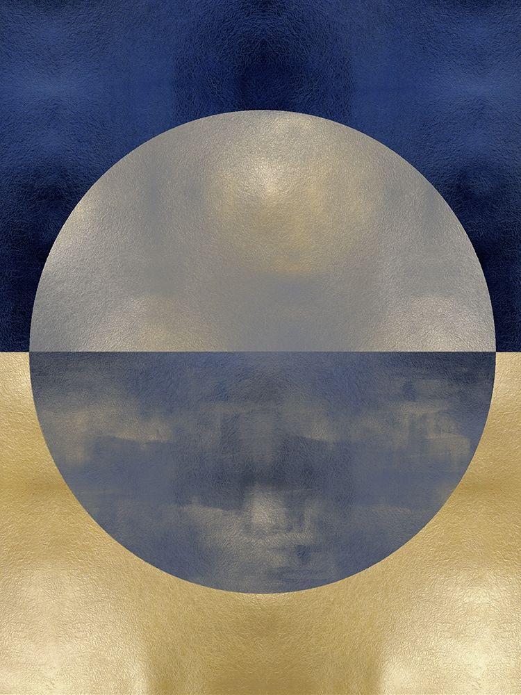 konfigurieren des Kunstdrucks in Wunschgröße Blue Sphere I von Thompson, Justin