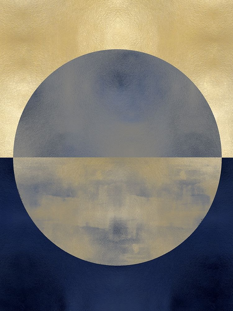 konfigurieren des Kunstdrucks in Wunschgröße Blue Sphere II von Thompson, Justin