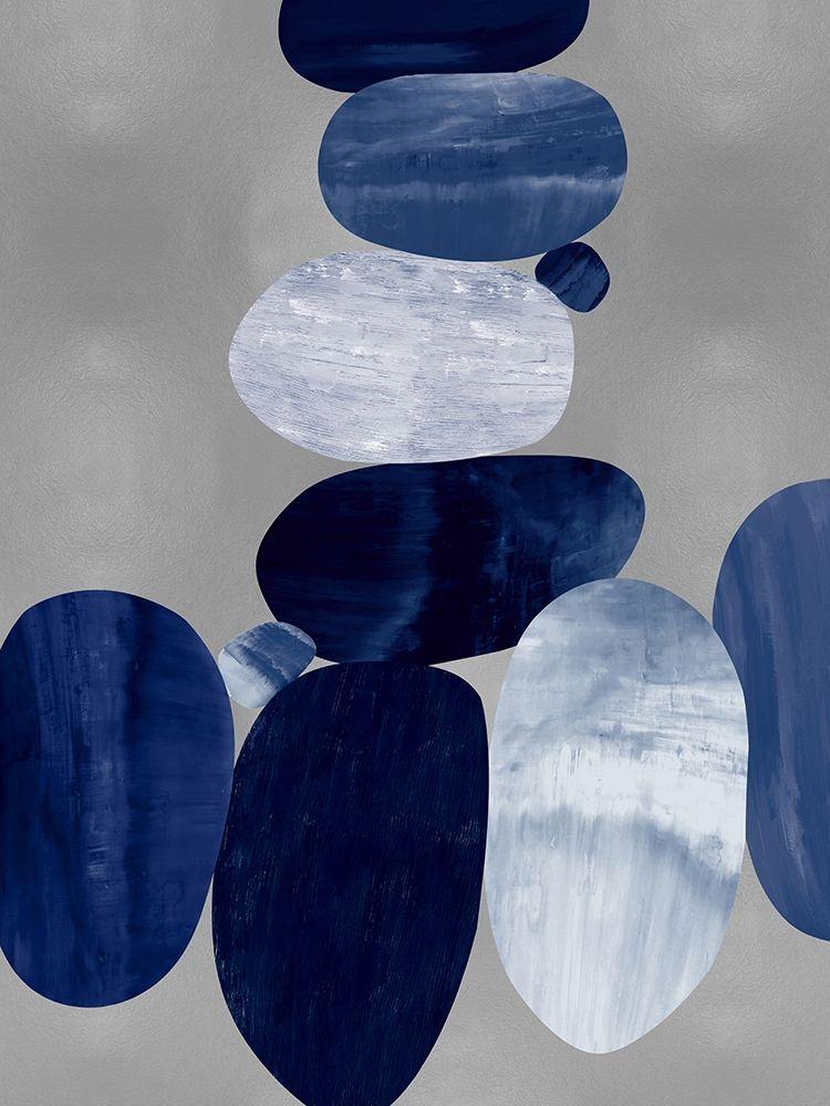 konfigurieren des Kunstdrucks in Wunschgröße Connected on Silver I von Thompson, Justin