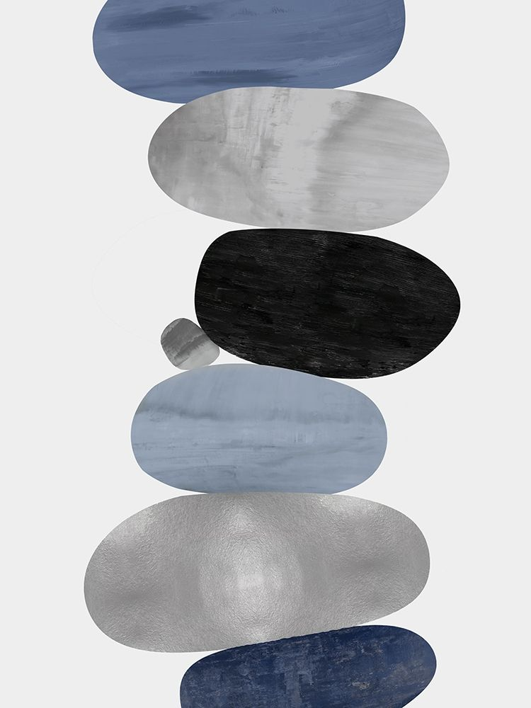 konfigurieren des Kunstdrucks in Wunschgröße Emerge Blue I von Thompson, Justin