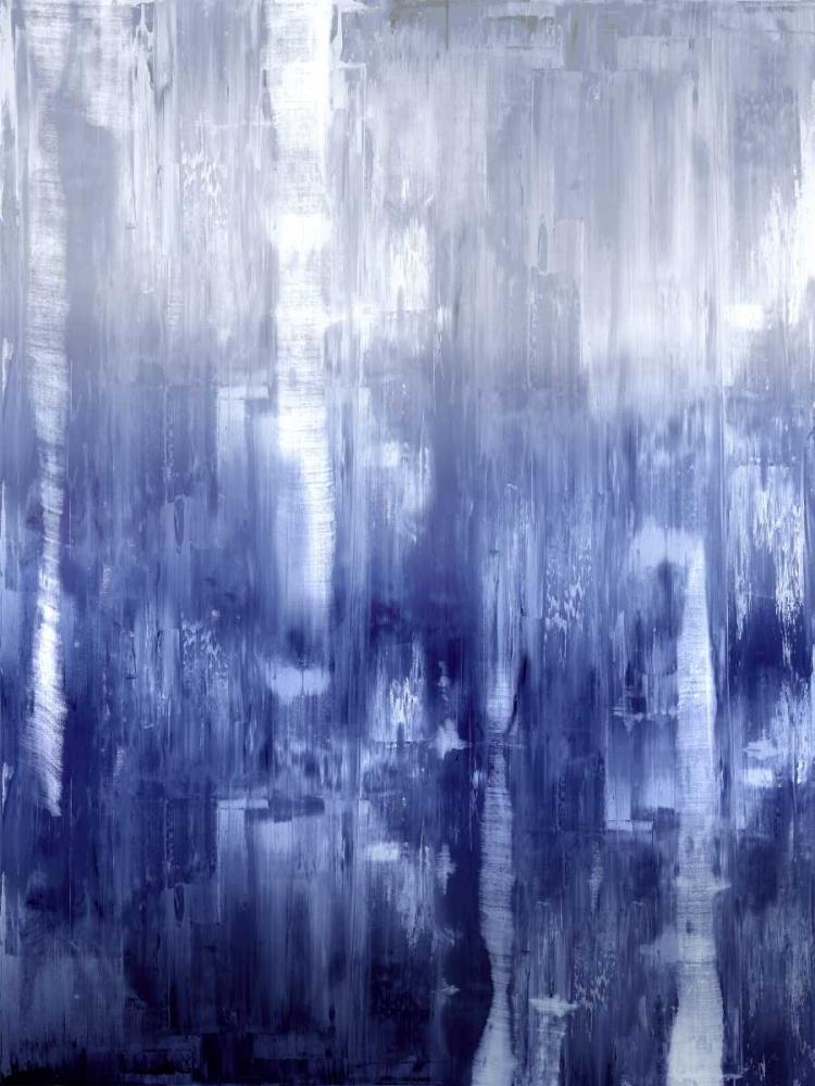 konfigurieren des Kunstdrucks in Wunschgröße Indigo Gradation von Turner, Justin