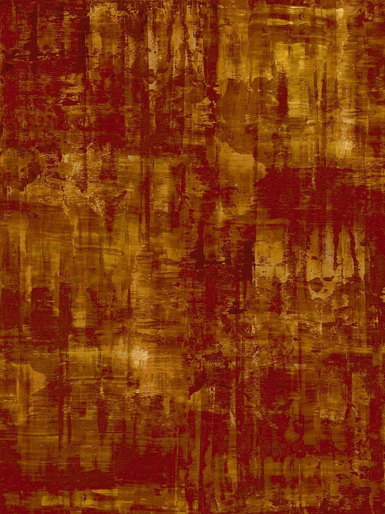 konfigurieren des Kunstdrucks in Wunschgröße Amber on Red von Turner, Justin