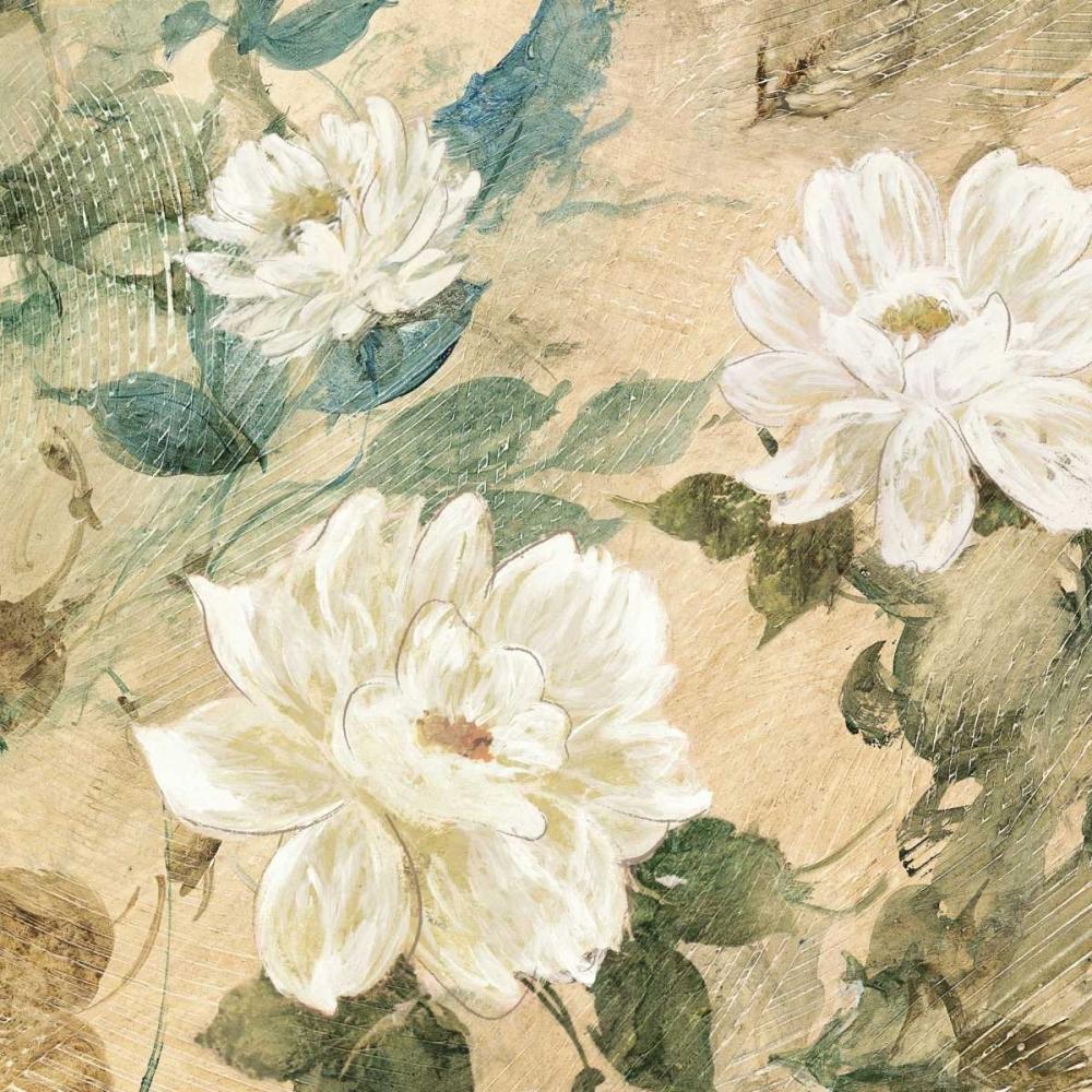 konfigurieren des Kunstdrucks in Wunschgröße White Flowers II von Wilcox, Jil