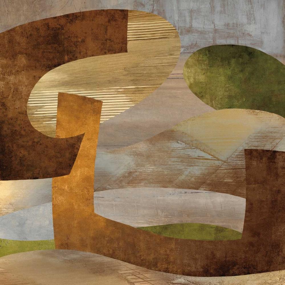konfigurieren des Kunstdrucks in Wunschgröße Conjunction II von Baker, Kevin