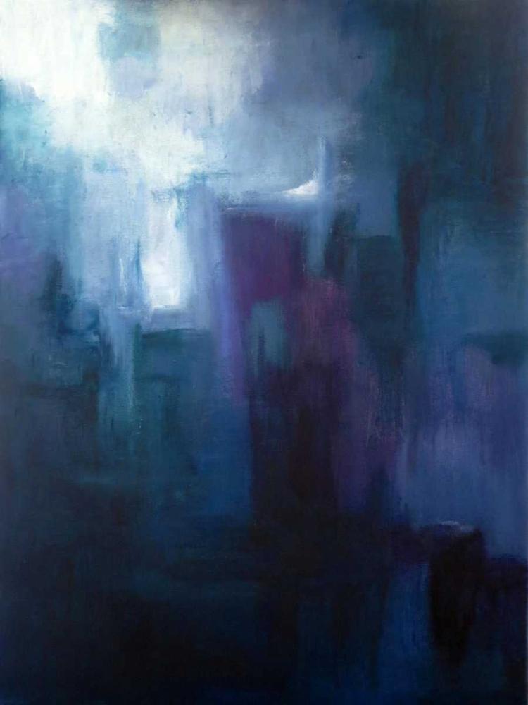 konfigurieren des Kunstdrucks in Wunschgröße Urban Nocturne von Abbott, Kimberly
