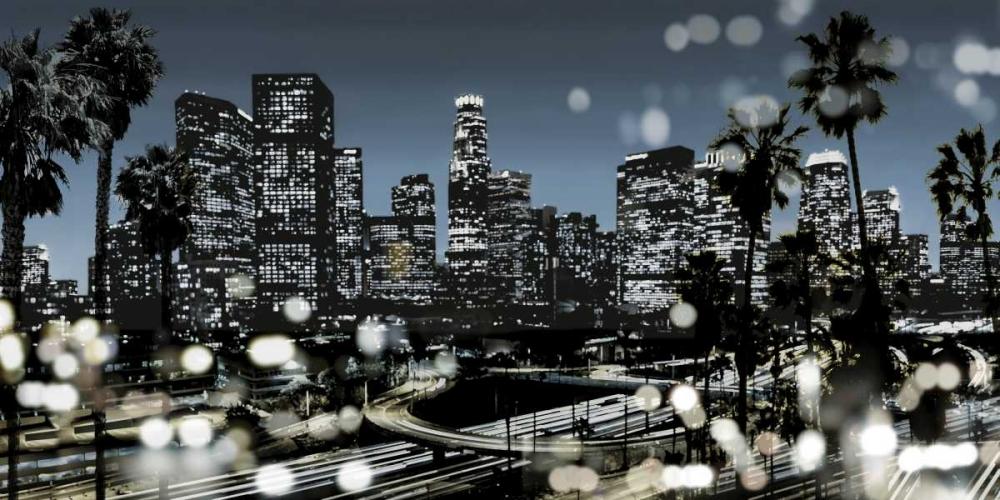 konfigurieren des Kunstdrucks in Wunschgröße L.A. Nights II von Carrigan, Kate