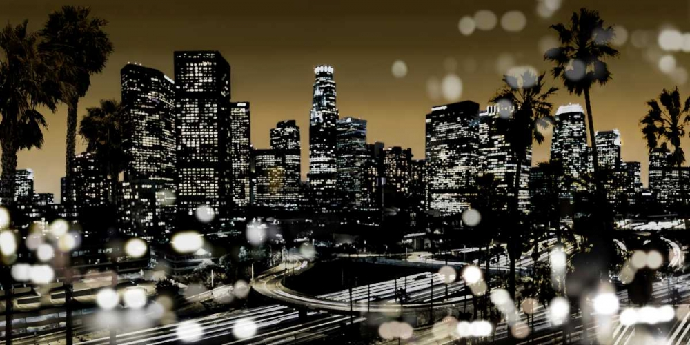 konfigurieren des Kunstdrucks in Wunschgröße L.A. Nights I von Carrigan, Kate