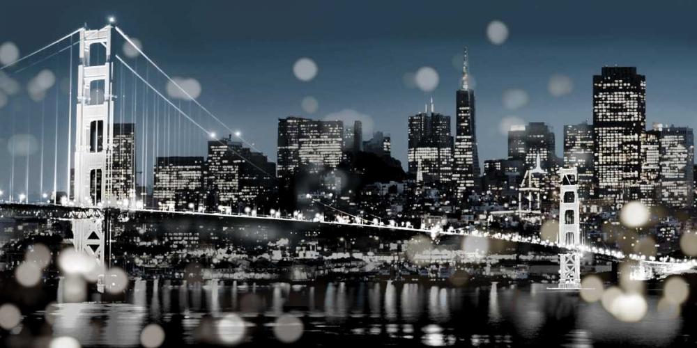 konfigurieren des Kunstdrucks in Wunschgröße The City-San Francisco von Carrigan, Kate