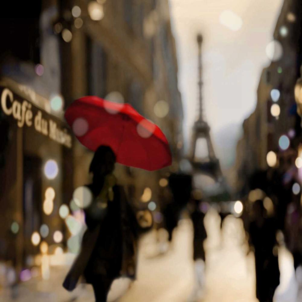konfigurieren des Kunstdrucks in Wunschgröße A Paris Stroll von Carrigan, Kate