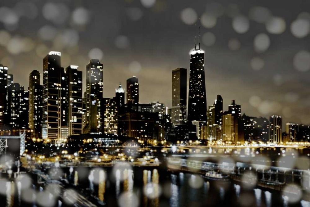 konfigurieren des Kunstdrucks in Wunschgröße Chicago Nights II von Carrigan, Kate