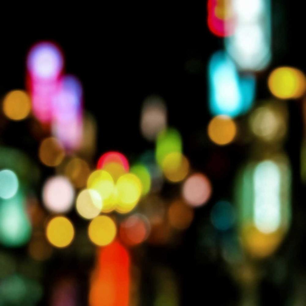 konfigurieren des Kunstdrucks in Wunschgröße Night Lights von Carrigan, Kate