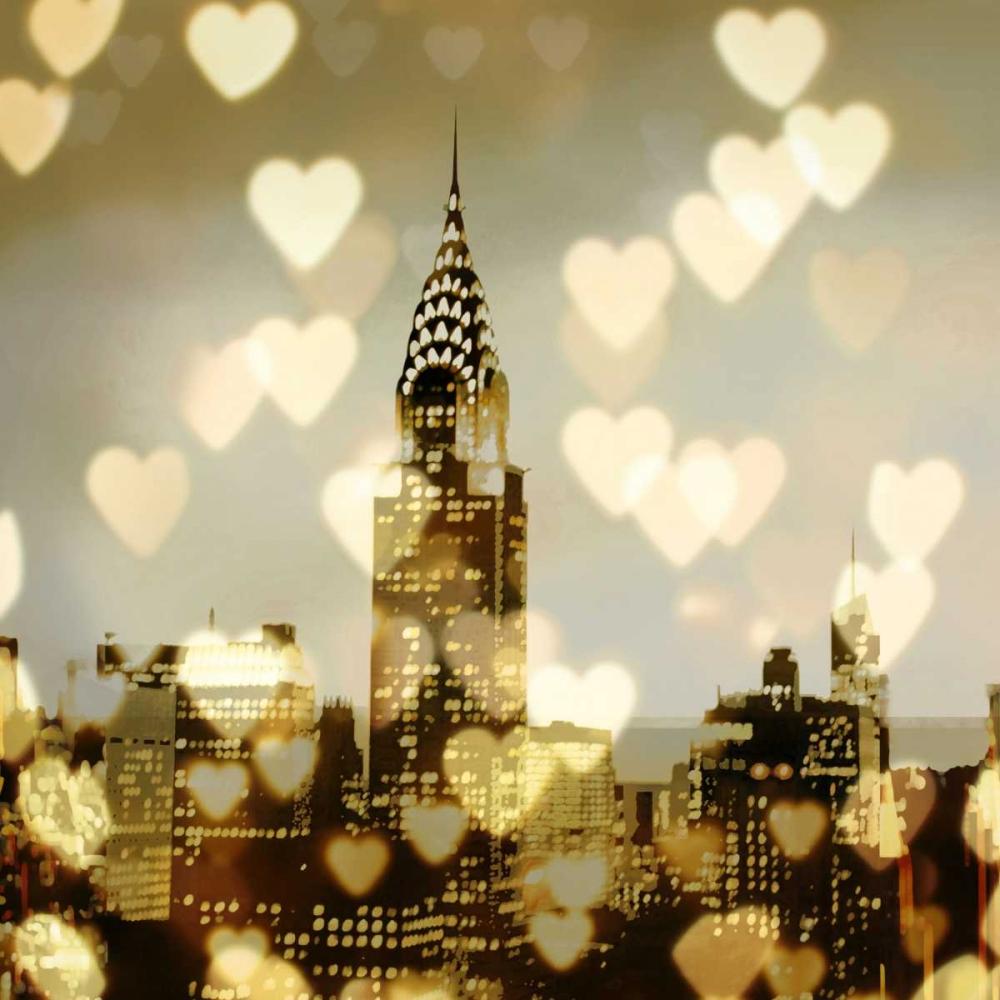 konfigurieren des Kunstdrucks in Wunschgröße I Love NY I von Carrigan, Kate