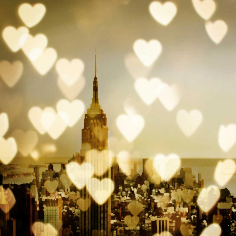 konfigurieren des Kunstdrucks in Wunschgröße I Love NY II von Carrigan, Kate
