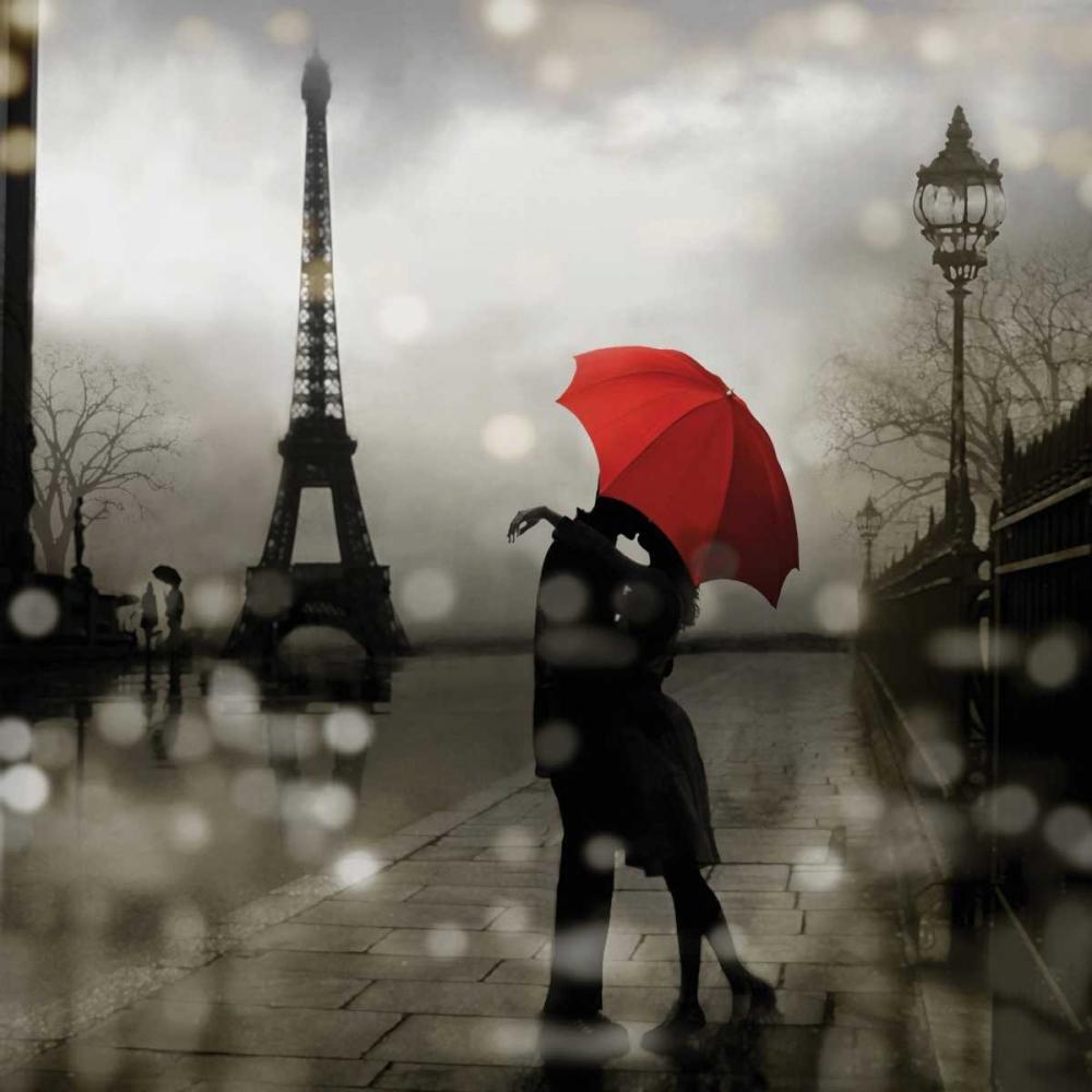 konfigurieren des Kunstdrucks in Wunschgröße Paris Romance von Carrigan, Kate