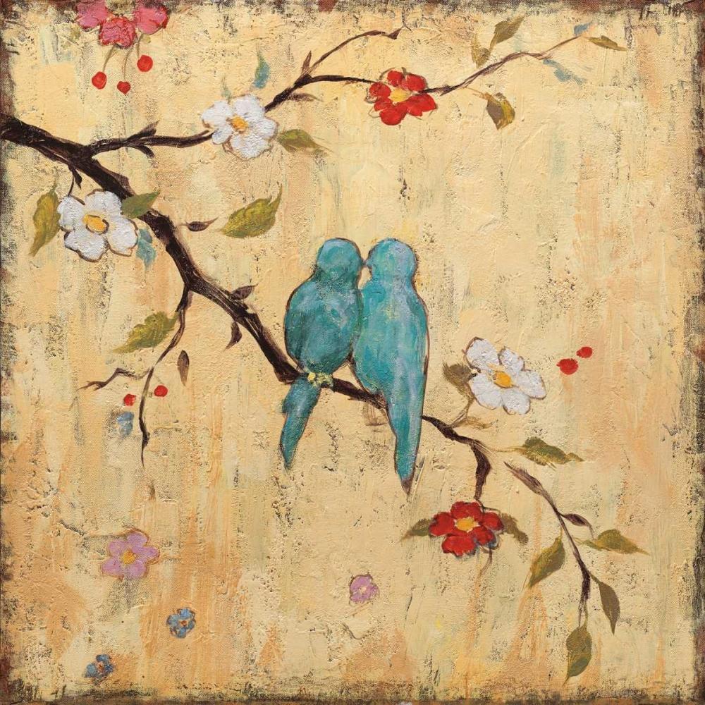 konfigurieren des Kunstdrucks in Wunschgröße Love Birds II von Frances, Katy