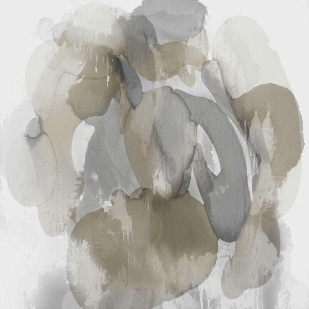 konfigurieren des Kunstdrucks in Wunschgröße Neutral Flow I von Jett, Kristina