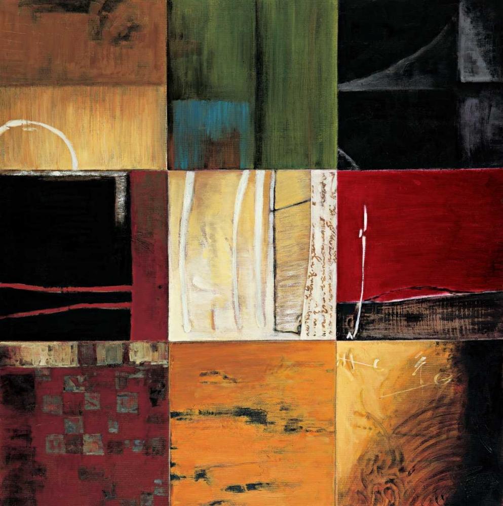 konfigurieren des Kunstdrucks in Wunschgröße Compartments I von Morrison, Kurt