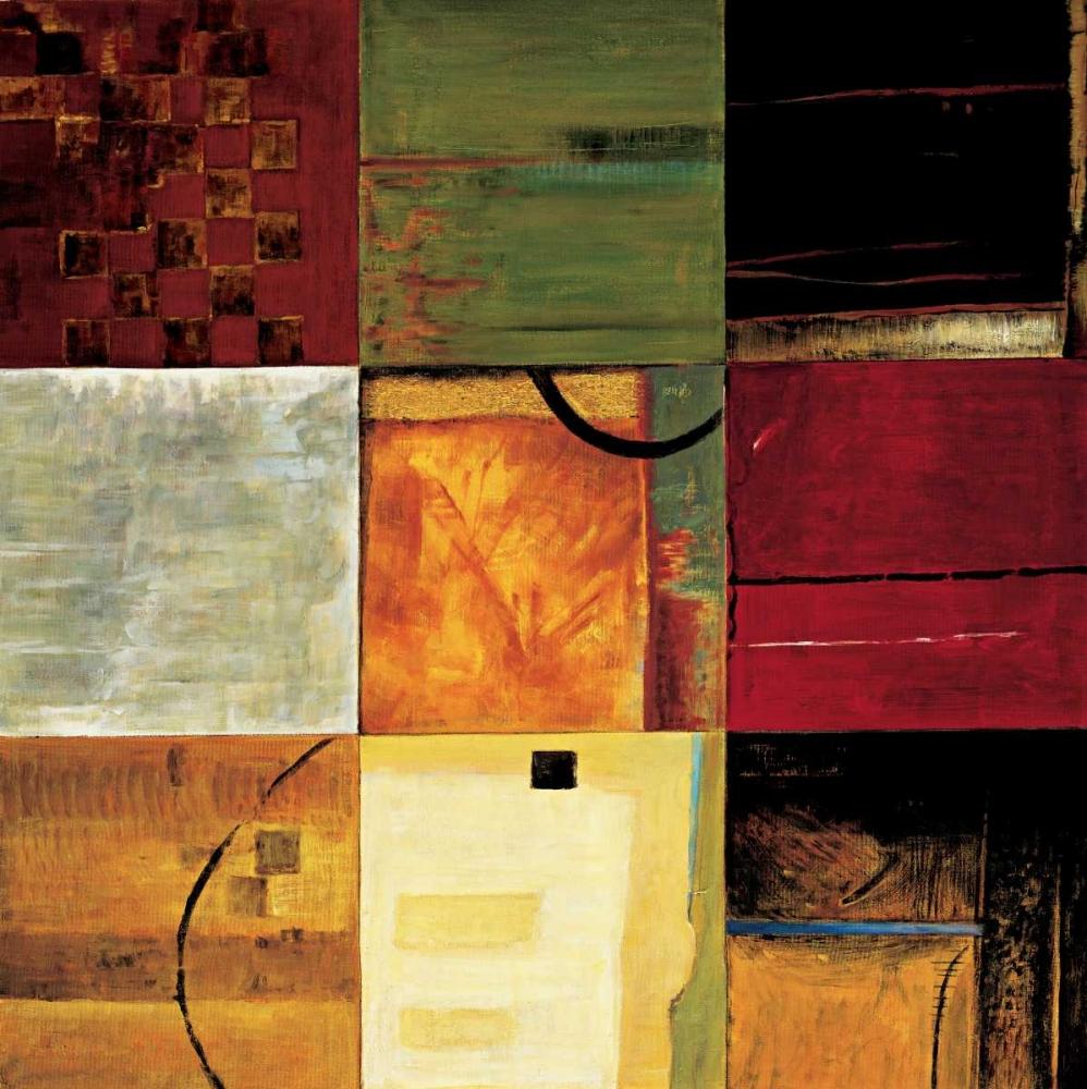 konfigurieren des Kunstdrucks in Wunschgröße Compartments II von Morrison, Kurt