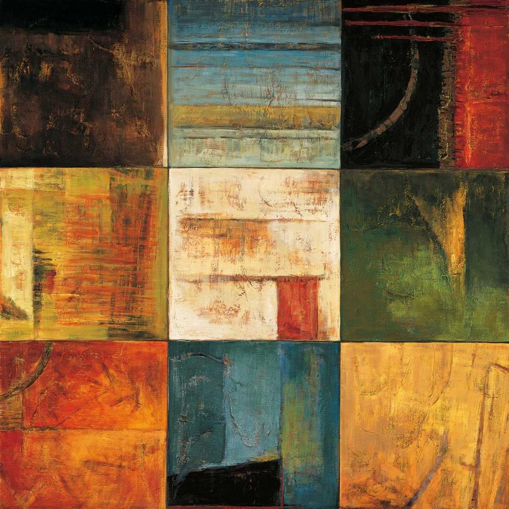 konfigurieren des Kunstdrucks in Wunschgröße Diversified II von Morrison, Kurt