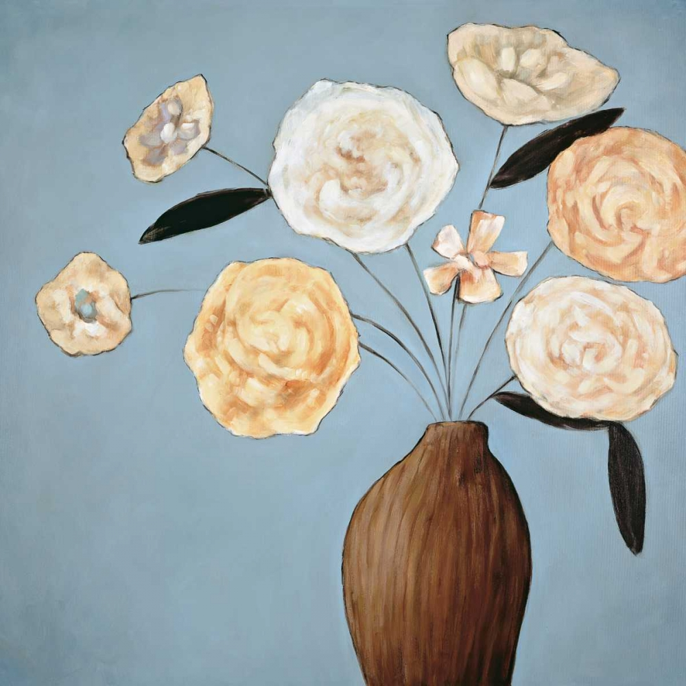 konfigurieren des Kunstdrucks in Wunschgröße Flourish II von Olsen, Katy