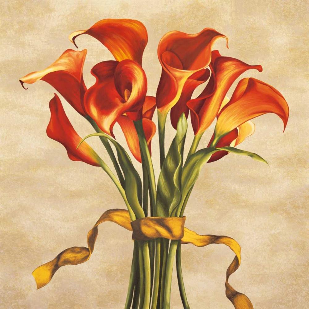 konfigurieren des Kunstdrucks in Wunschgröße Bouquet ambra von Corradini, Lisa