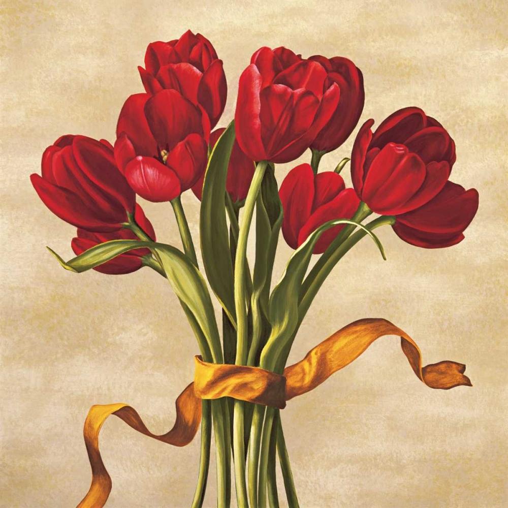 konfigurieren des Kunstdrucks in Wunschgröße Bouquet rubino von Corradini, Lisa