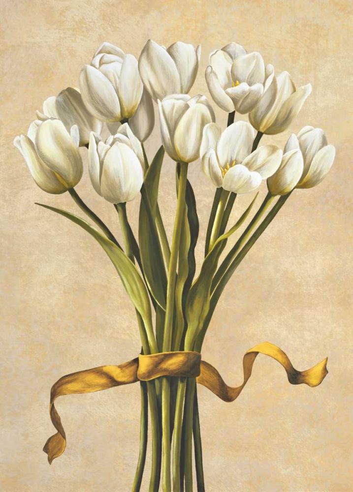 konfigurieren des Kunstdrucks in Wunschgröße Bouquet candido von Corradini, Lisa