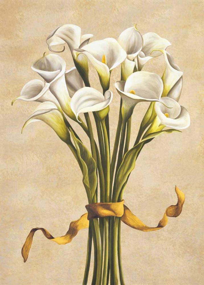 konfigurieren des Kunstdrucks in Wunschgröße Bouquet bianco von Corradini, Lisa