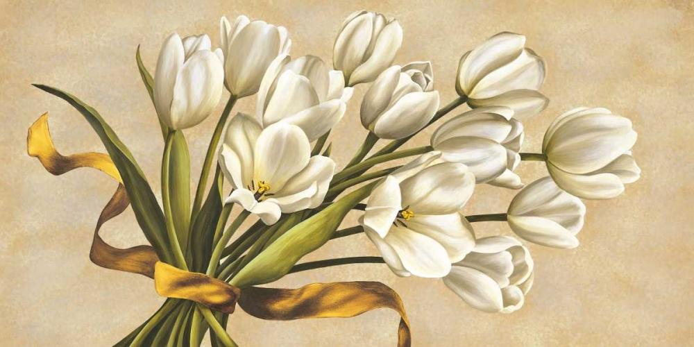 konfigurieren des Kunstdrucks in Wunschgröße Bouquet perla von Corradini, Lisa