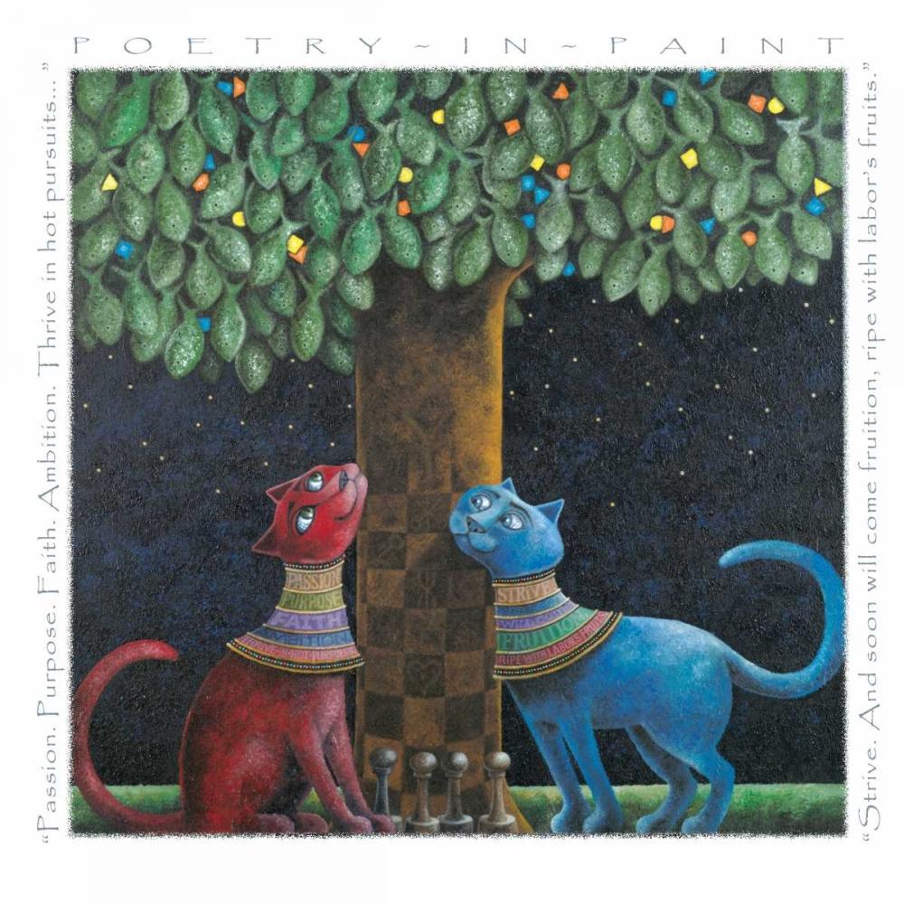 konfigurieren des Kunstdrucks in Wunschgröße Labors Fruits-Poetry in Paint von Seeley, Laura