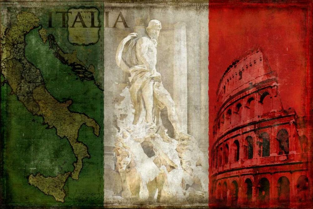 konfigurieren des Kunstdrucks in Wunschgröße Brava Italia von Wilson, Luke