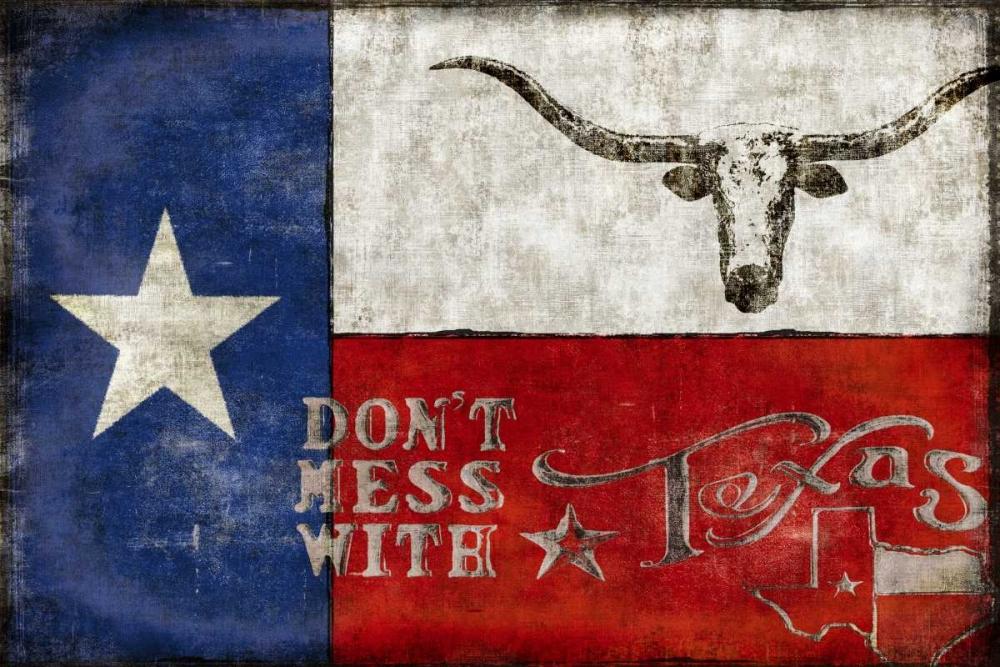 konfigurieren des Kunstdrucks in Wunschgröße Texas Proud von Wilson, Luke