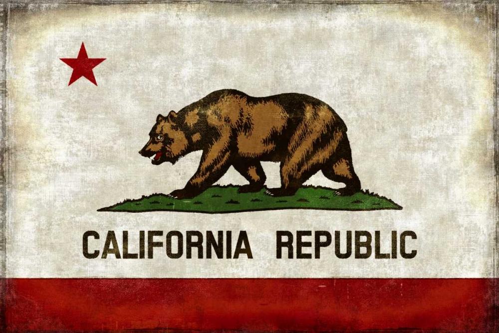 konfigurieren des Kunstdrucks in Wunschgröße The California Republic von Wilson, Luke