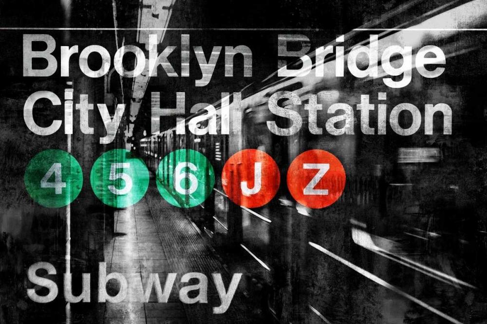 konfigurieren des Kunstdrucks in Wunschgröße NYC Subway Station I von Wilson, Luke