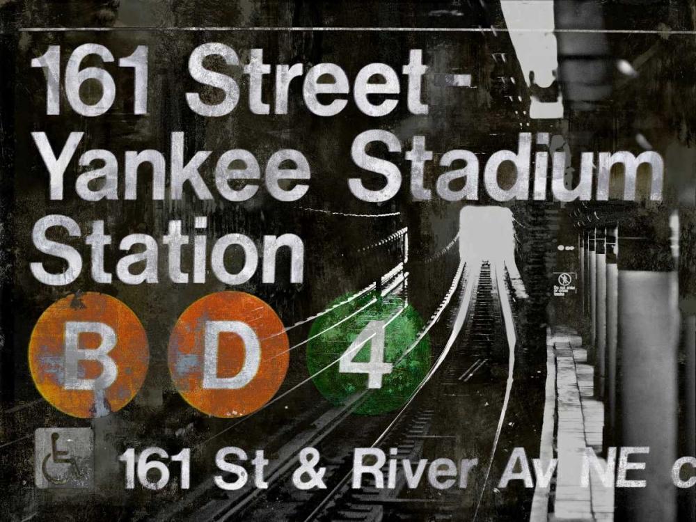 konfigurieren des Kunstdrucks in Wunschgröße NYC Subway Station II von Wilson, Luke