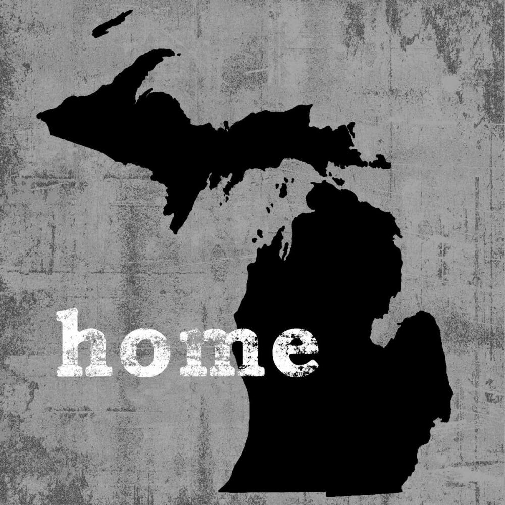 konfigurieren des Kunstdrucks in Wunschgröße Michigan von Wilson, Luke