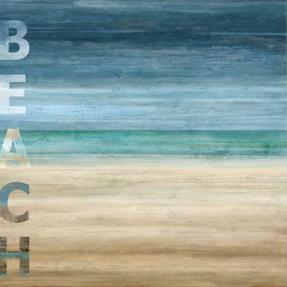 konfigurieren des Kunstdrucks in Wunschgröße Beach von Wilson, Luke