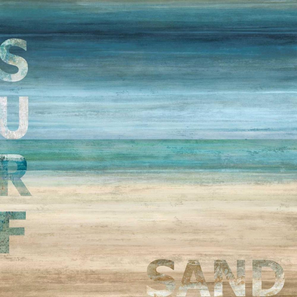 konfigurieren des Kunstdrucks in Wunschgröße Surf and Sand von Wilson, Luke