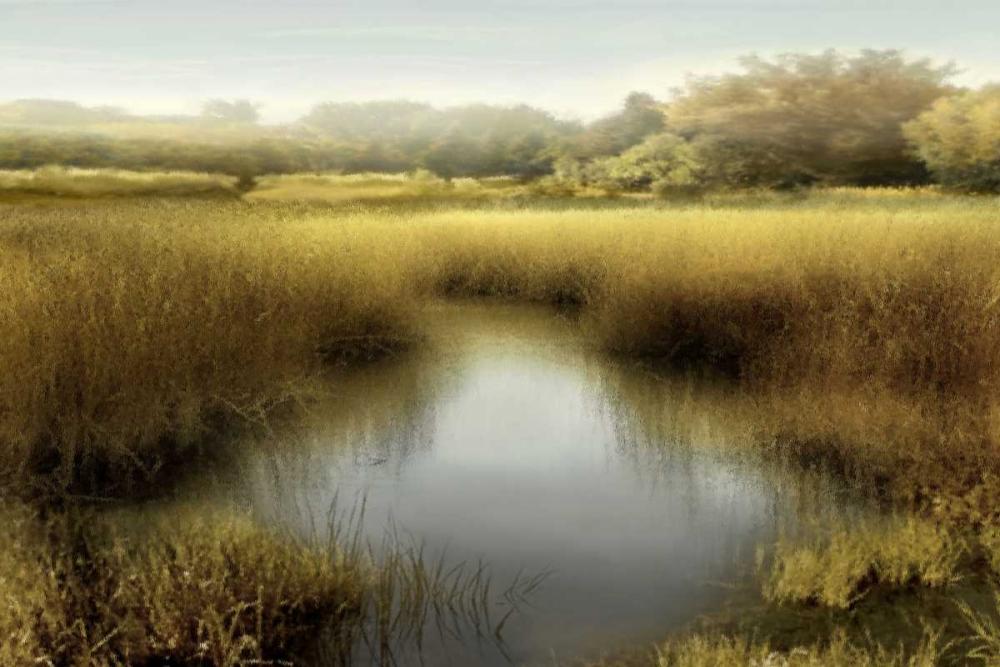 konfigurieren des Kunstdrucks in Wunschgröße Morning Calm I von Clark, Madeline