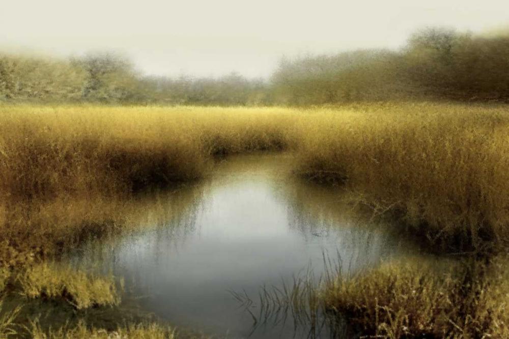 konfigurieren des Kunstdrucks in Wunschgröße Tranquil Pond von Clark, Madeline