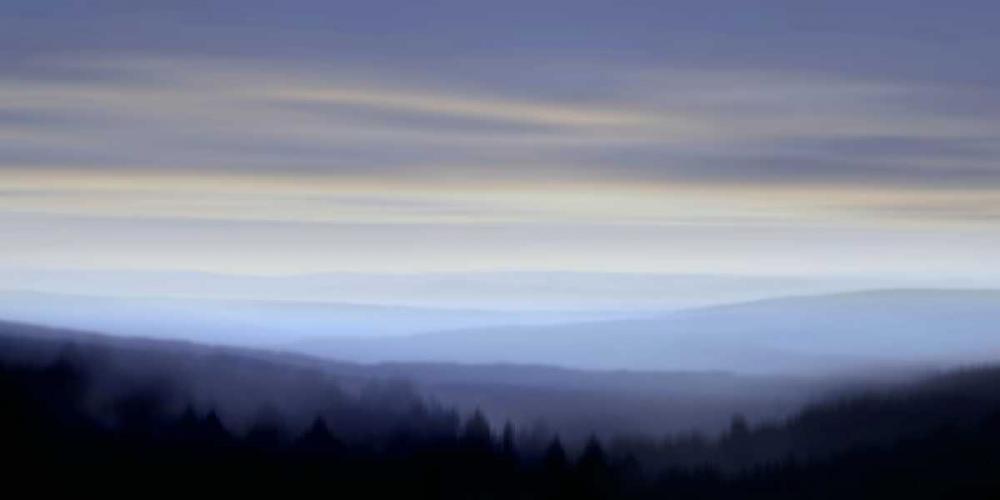 konfigurieren des Kunstdrucks in Wunschgröße Panorama I von Clark, Madeline