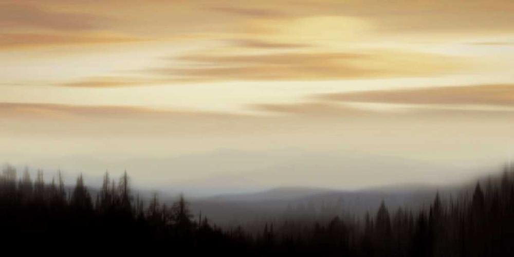 konfigurieren des Kunstdrucks in Wunschgröße Panorama II von Clark, Madeline