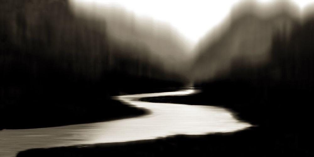 konfigurieren des Kunstdrucks in Wunschgröße River at Day Break I von Clark, Madeline