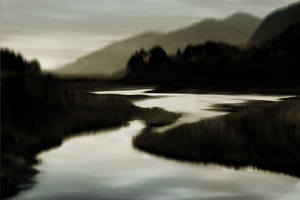 konfigurieren des Kunstdrucks in Wunschgröße River at Day Break II von Clark, Madeline